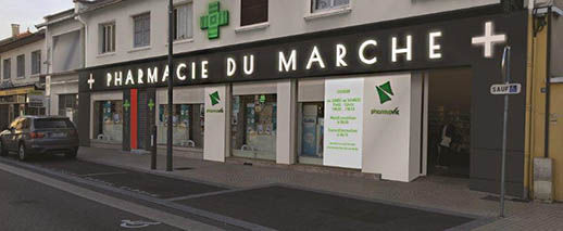 Pharmacie Du Marché,SAINT-PRIEST