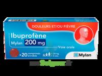 Ibuprofene Mylan 200 Mg, Comprimé Enrobé à SAINT-PRIEST