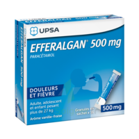 Efferalgan 500 Mg Glé En Sachet Sach/16 à SAINT-PRIEST