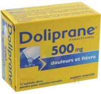 Doliprane 500 Mg Poudre Pour Solution Buvable En Sachet-dose B/12 à SAINT-PRIEST