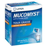 Mucomyst 200 Mg Poudre Pour Solution Buvable En Sachet B/18 à SAINT-PRIEST