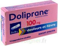 Doliprane 100 Mg Suppositoires Sécables 2plq/5 (10) à SAINT-PRIEST