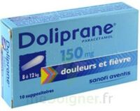 Doliprane 150 Mg Suppositoires 2plq/5 (10) à SAINT-PRIEST