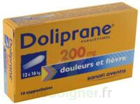 Doliprane 200 Mg Suppositoires 2plq/5 (10) à SAINT-PRIEST