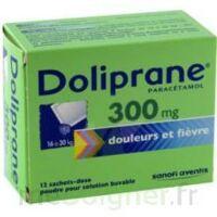 Doliprane 300 Mg Poudre Pour Solution Buvable En Sachet-dose B/12 à SAINT-PRIEST
