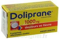 Doliprane 1000 Mg Comprimés Effervescents Sécables T/8 à SAINT-PRIEST