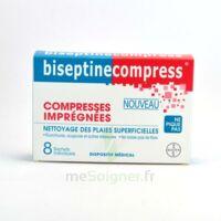 Biseptinecompress Compressses Impregnees, Bt 8 à SAINT-PRIEST