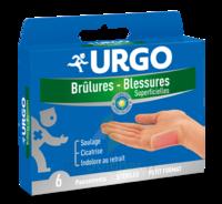 URGO BRULURES-BLESSURES PETIT FORMAT x 6 à SAINT-PRIEST