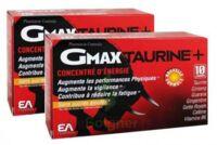 Gmax-Taurine+ Solution buvable 2B/30 Ampoules/2ml à SAINT-PRIEST
