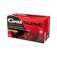 Gmax-taurine+ Solution Buvable 30 Ampoules/2ml à SAINT-PRIEST