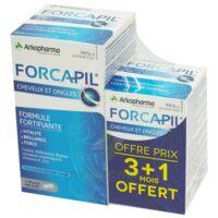 Forcapil Gélules croissance vitalité cheveux ongles B/180+60 à SAINT-PRIEST