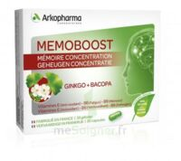Memoboost Ginkgo + Bacopa Gélules B/30 à SAINT-PRIEST