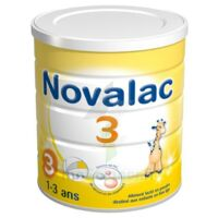 Novalac 3 Croissance lait en poudre 800g à SAINT-PRIEST