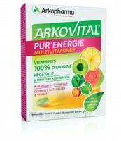 Arkovital Pur'Energie Multivitamines Comprimés dès 6 ans B/30 à SAINT-PRIEST