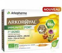 Arkoroyal Immunité Fort Solution Buvable 20 Ampoules/10ml à SAINT-PRIEST