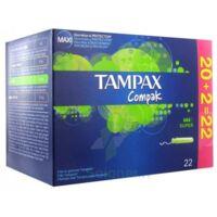 Tampax Compak, Super, Bt 22 à SAINT-PRIEST