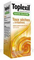 Toplexil 0,33 Mg/ml Sans Sucre Solution Buvable 150ml à SAINT-PRIEST