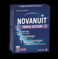 NOVANUIT Triple action Gélules B/30 à SAINT-PRIEST