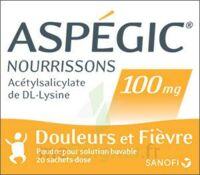 Aspegic Nourrissons 100 Mg, Poudre Pour Solution Buvable En Sachet-dose à SAINT-PRIEST