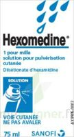 Hexomedine 1 Pour Mille, Solution Pour Pulvérisation Cutanée En Flacon Pressurisé à SAINT-PRIEST