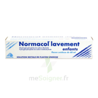Normacol Lavement Enfants, Solution Rectale, Récipient Unidose à SAINT-PRIEST