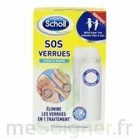 Scholl SOS Verrues traitement pieds et mains à SAINT-PRIEST