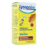 LysopaÏne Ambroxol 17,86 Mg/ml Solution Pour Pulvérisation Buccale Maux De Gorge Sans Sucre Menthe Fl/20ml à SAINT-PRIEST