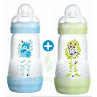 MAM BIBERON EASY START anti-colique 260 ml lot de 2_ BLEU & VERT à SAINT-PRIEST