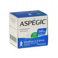Aspegic 500 Mg, Poudre Pour Solution Buvable En Sachet-dose 30 à SAINT-PRIEST