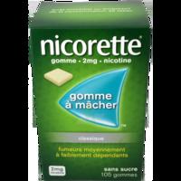 Nicorette 2 Mg Gom à Mâcher Médic Sans Sucre Menthe Fraîche Plq/105gom à SAINT-PRIEST