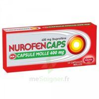 Nurofencaps 400 Mg Caps Molle Plq/10 à SAINT-PRIEST