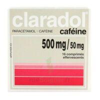 Claradol Cafeine 500 Mg/50 Mg, Comprimé Effervescent à SAINT-PRIEST