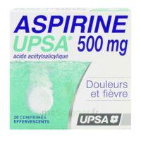 Aspirine Upsa 500 Mg, Comprimé Effervescent à SAINT-PRIEST