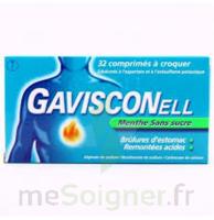 Gavisconell Coprimés à Croquer Sans Sucre Menthe édulcoré à L'aspartam Et à L'acésulfame Potas Plq/24 à SAINT-PRIEST