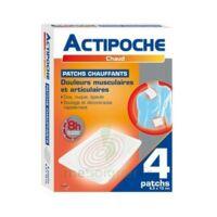 Actipoche Patch chauffant douleurs musculaires B/4 à SAINT-PRIEST