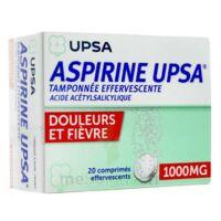 Aspirine Upsa Tamponnee Effervescente 1000 Mg, Comprimé Effervescent à SAINT-PRIEST