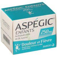 Aspegic Enfants 250, Poudre Pour Solution Buvable En Sachet-dose à SAINT-PRIEST