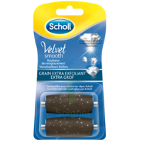 Scholl Velvet Smooth Rouleaux De Remplacement  Grain Extra Exfoliant à SAINT-PRIEST