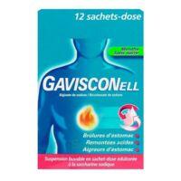 Gavisconell Suspension Buvable Sachet-dose Menthe Sans Sucre 12sach/10ml à SAINT-PRIEST