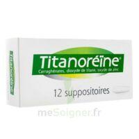 Titanoreine Suppositoires B/12 à SAINT-PRIEST