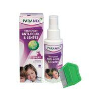 Paranix Solution antipoux Huiles essentielles 100ml+peigne à SAINT-PRIEST