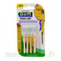 GUM TRAV - LER, 1,3 mm, manche jaune , blister 4 à SAINT-PRIEST