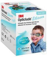 Opticlude Design Boy Pansement orthoptique silicone midi 5,3x7cm à SAINT-PRIEST