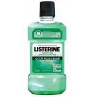 Listerine Protection Dents Gencives Bain bouche goût plus léger Fl/500ml à SAINT-PRIEST