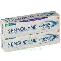 Sensodyne Rapide Pâte dentifrice dents sensibles 2*75ml à SAINT-PRIEST