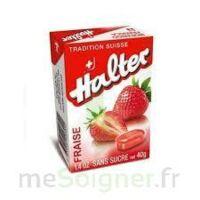 Halter Bonbon sans sucre fraise 40g à SAINT-PRIEST