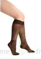 Thuasne Venoflex Secret 2 Chaussette femme beige bronzant T2L à SAINT-PRIEST