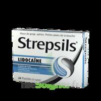 Strepsils Lidocaïne Pastilles Plq/24 à SAINT-PRIEST