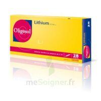 Oligosol Lithium Solution Buvable En Ampoule Ou En Récipient Unidose 28amp/2ml à SAINT-PRIEST