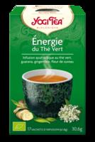 Yogi Tea Thé énergie du thé vert bio 17 Sachets à SAINT-PRIEST